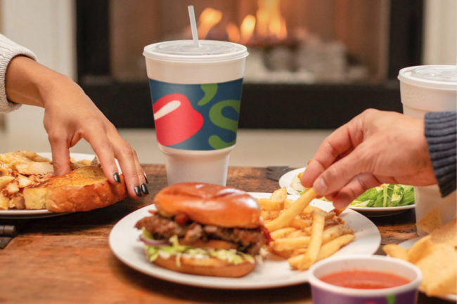 Eating Chili's restaurant food at home