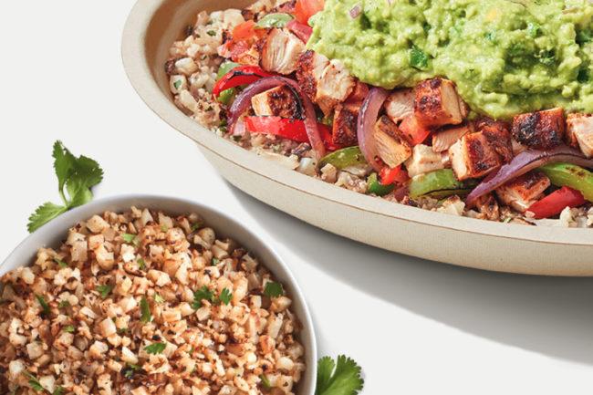 Chipotle Mexican Grill Cilantro-Lime Cauliflower Rice
