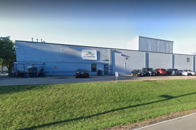 Conagra sandwich plant in Milwaukee