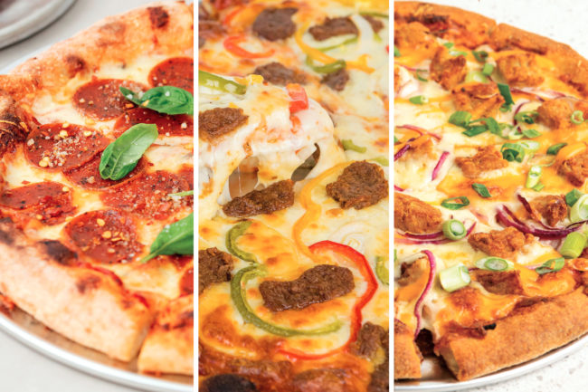Dr. Praeger's Sensible Foods plant-based pizza toppings