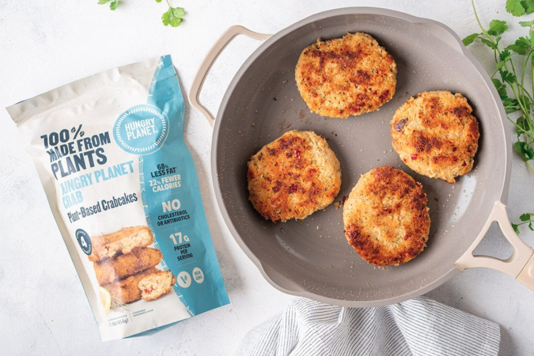 Hungry Planet plant-based crab cakes