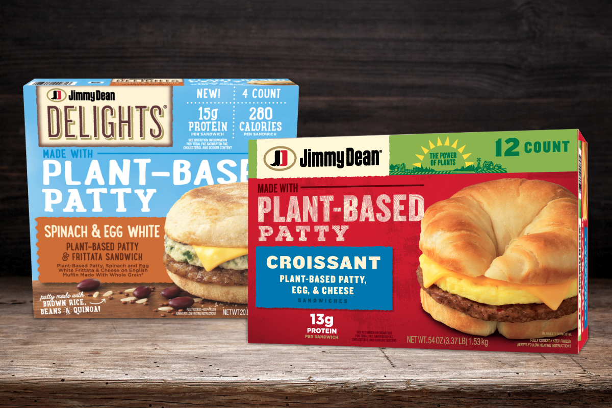Jimmy Dean Debuts Plant Based Patty Breakfast Sandwiches 2021 01 06 Food Business News