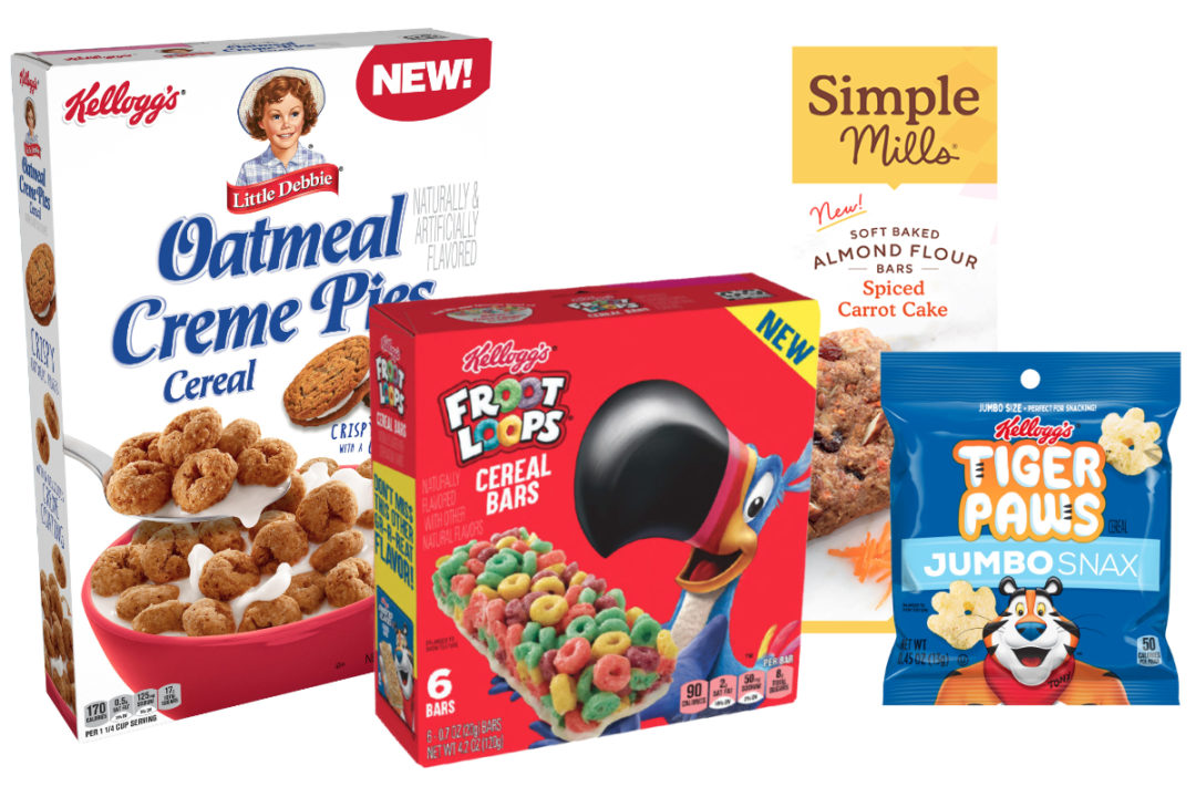 Kellogg and Simple Mills products