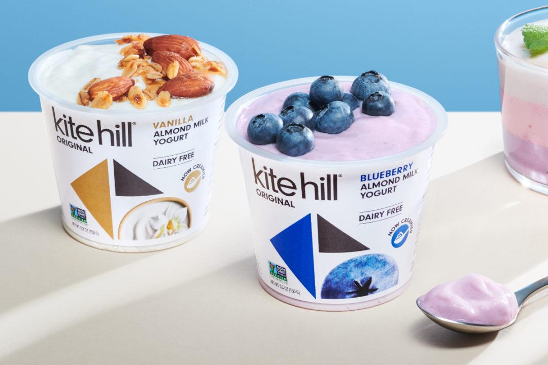 Kite Hill Original almond milk yogurt