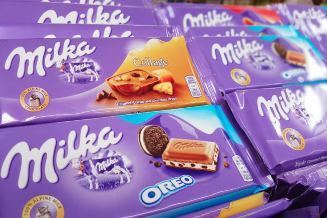 Mondelez Milka products