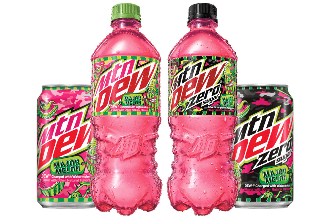 Mtn Dew Major Melon