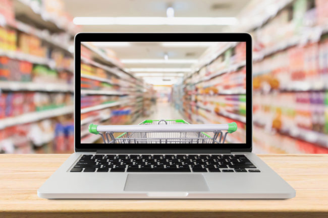 Omnichannel grocery shopping