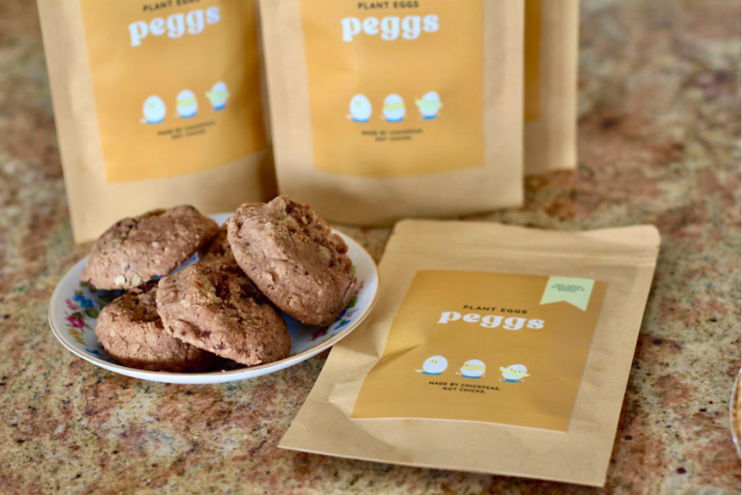 Peggs chickpea-based egg substitute
