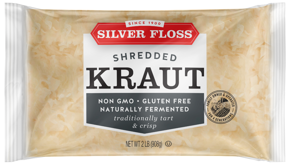 GLK Foods Silver Floss shredded kraut