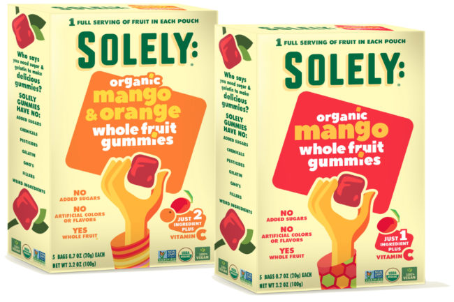 Solely Organic Whole Fruit Gummies