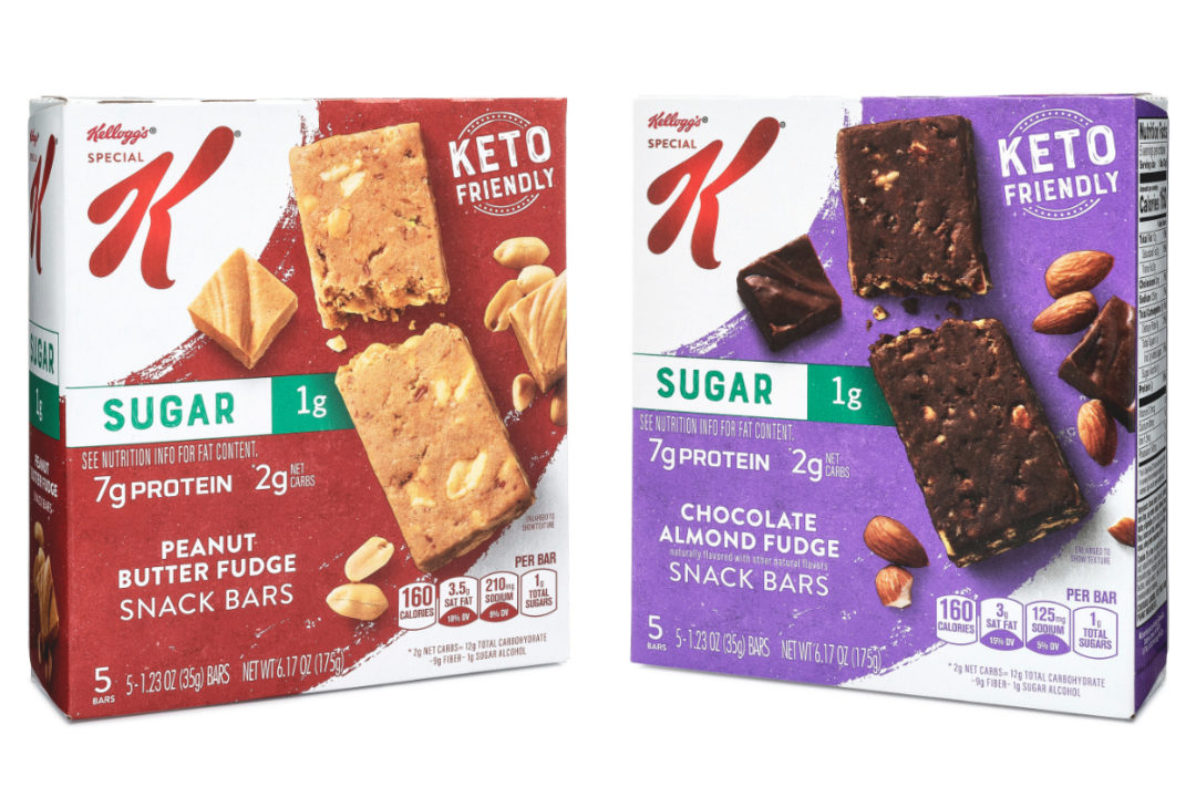 Kellogg's Special K Keto-Friendly Snack Bars