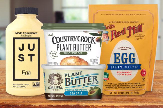 Vegan baking products