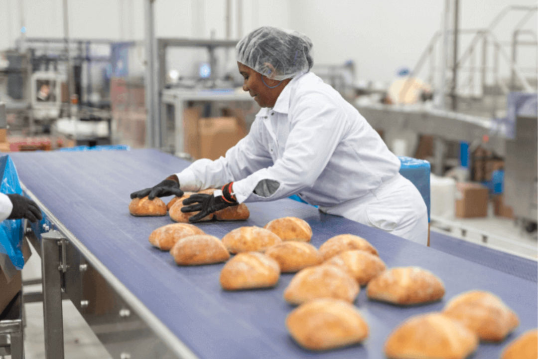 Weston Foods bakery line