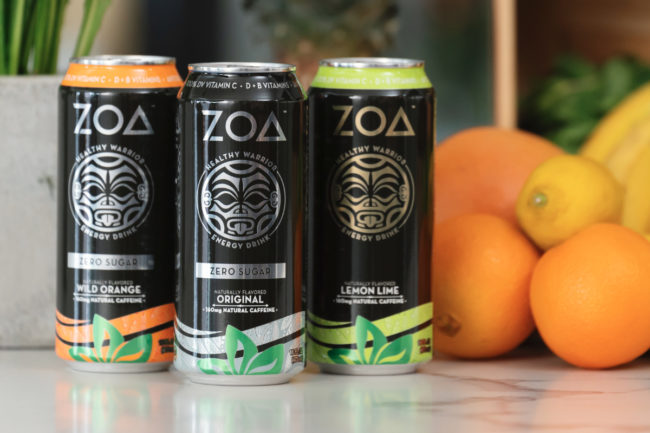 ZOA Energy drinks