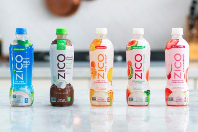 Zico coconut water beverages