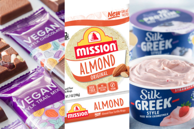 New vegan products from Purdys Chocolatier, Mission Foods and Danone SA