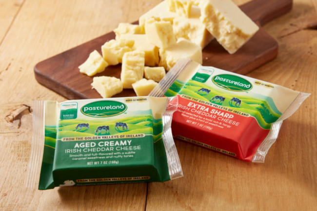 Dairygold branded cheese