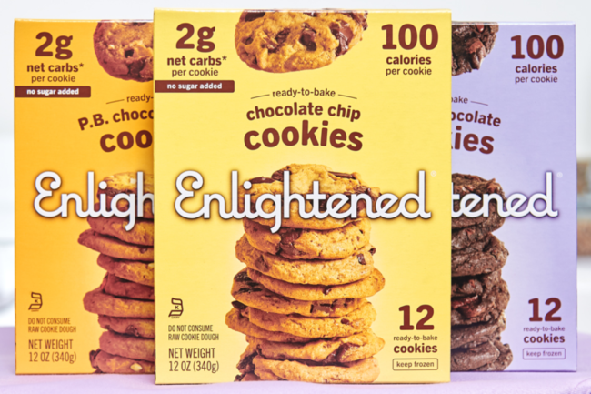 Ready-to-bake cookies from Enlightened