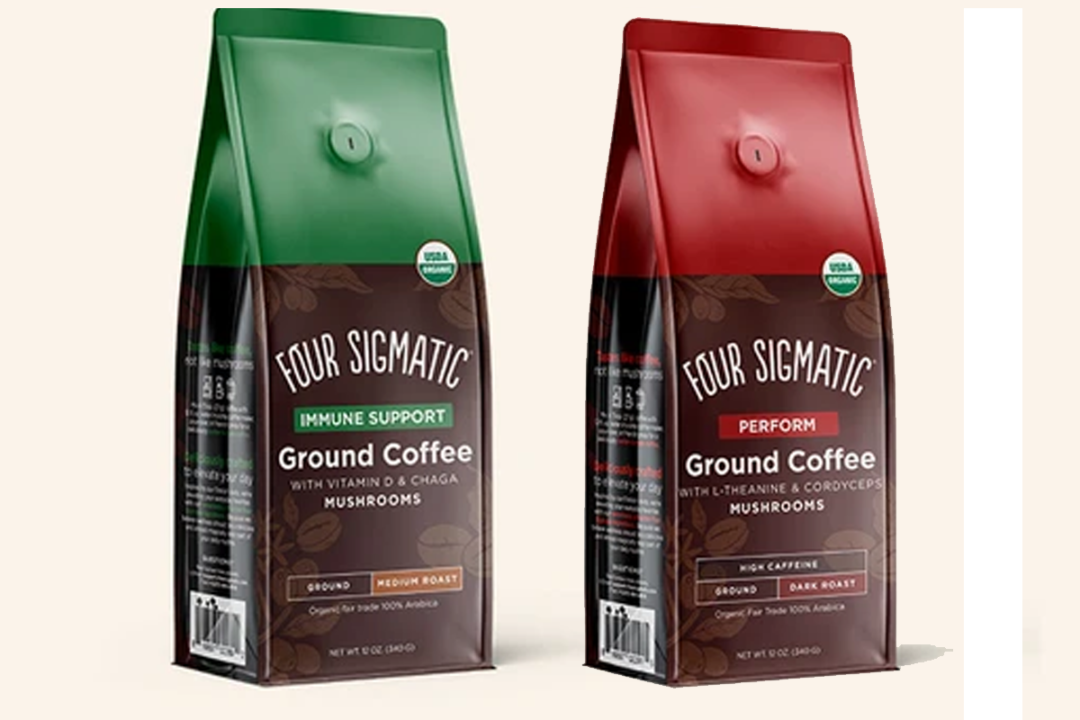 Four Sigmatic coffees