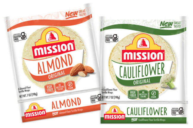 Almond Cauliflower Tortillas from Mission Foods