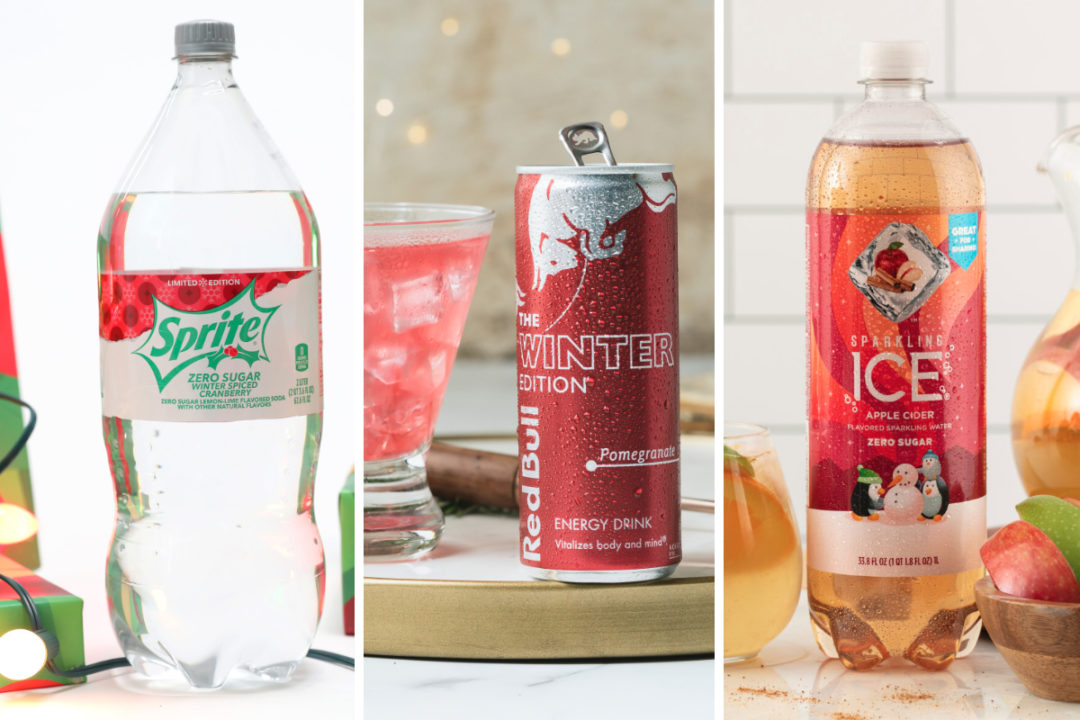 New seasonal beverages from Coca-Cola, Red Bull, Sparkling Ice