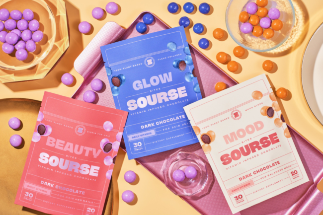 Health and beauty chocolate bites from Sourse