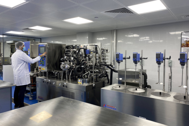 Interior of Tate & Lyle's Technical Applications Center in Dubai