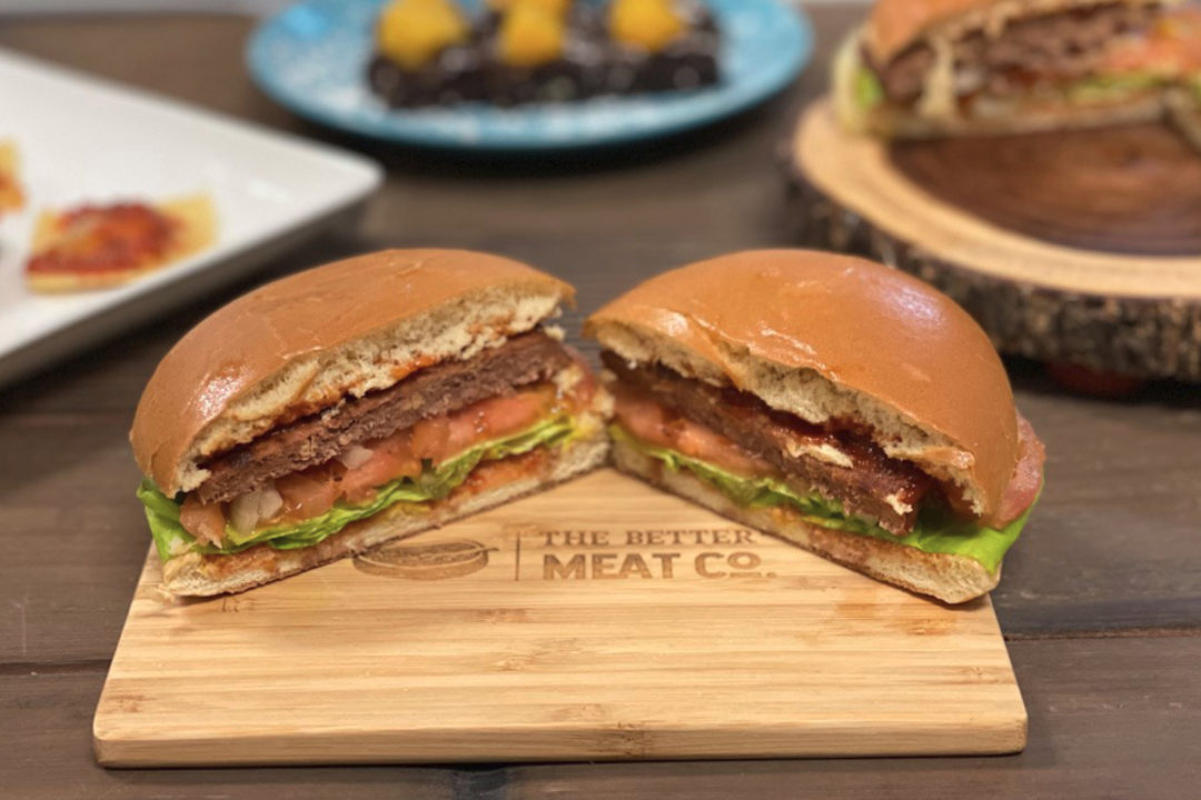 The Better Meat Co. burger