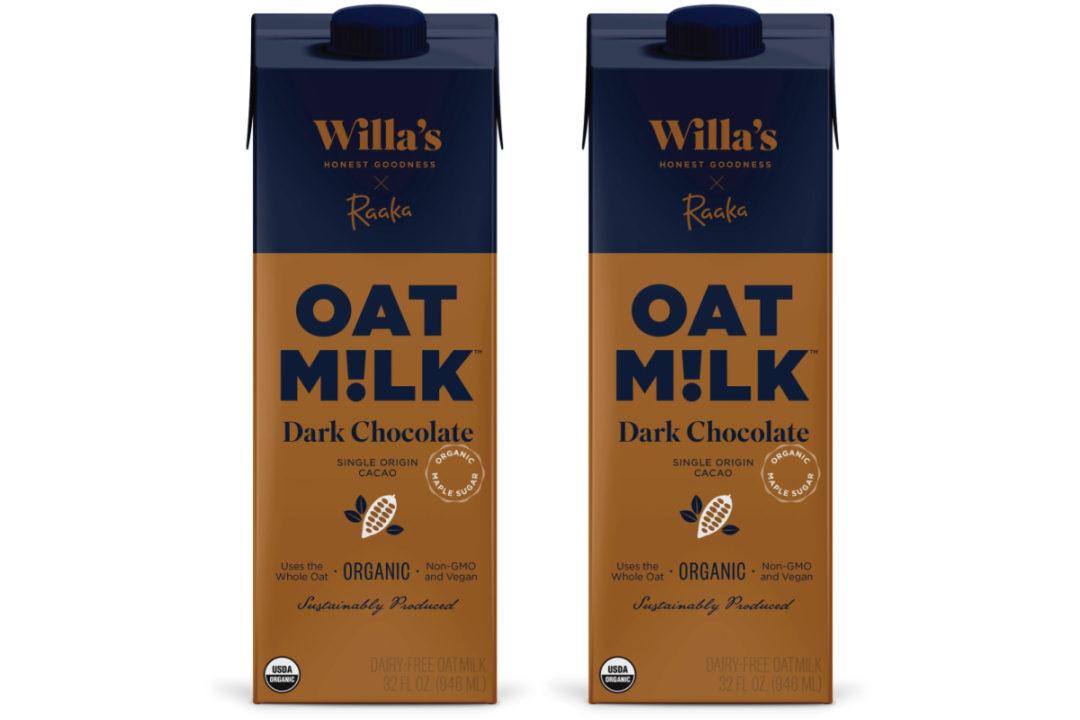 Willa's Raaka Dark Chocolate Oat Milk