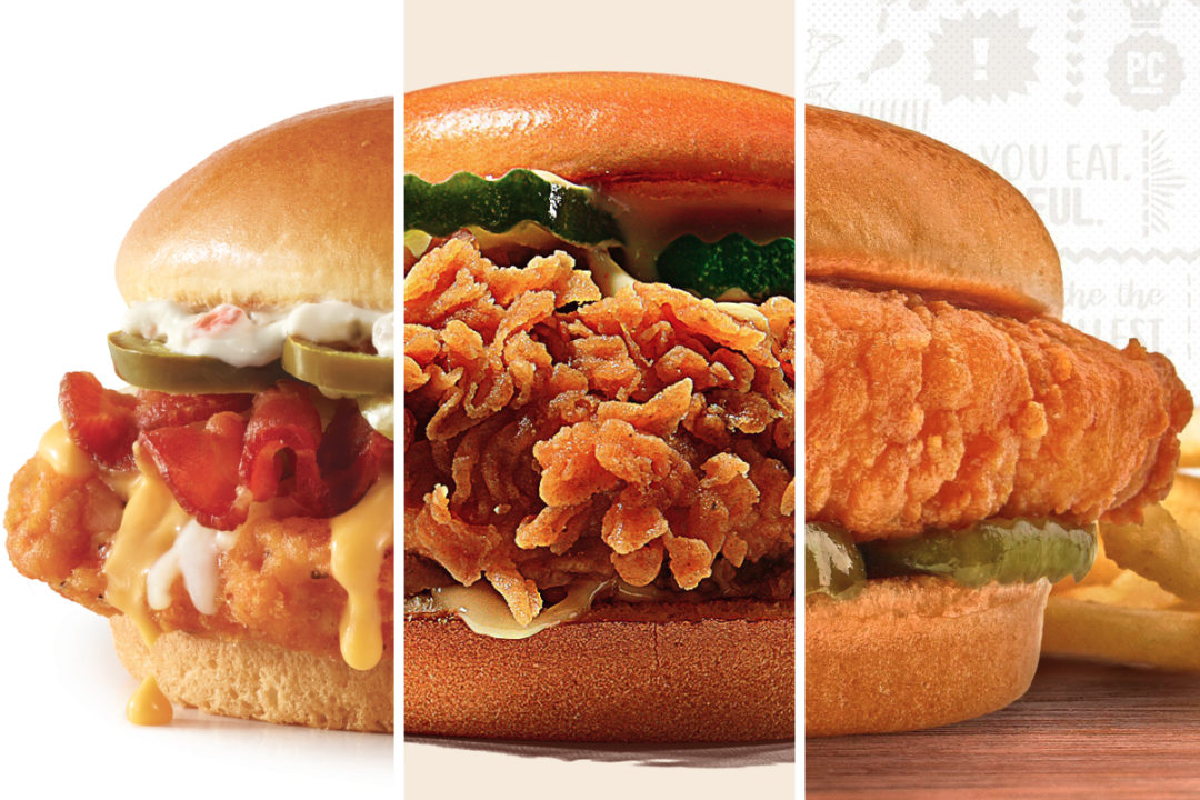 New menu items from Wendy's, Burger King, Pollo Campero