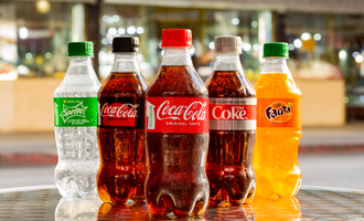Coca cola bottles lead