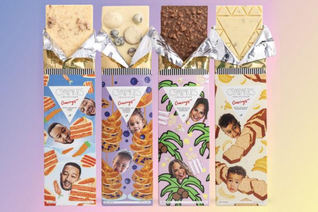 Compartés Chocolatier Chrissy Teigen collection