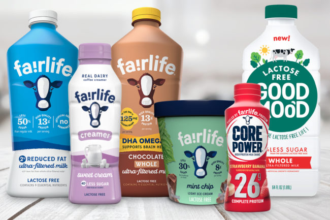 Fairlife product portfolio