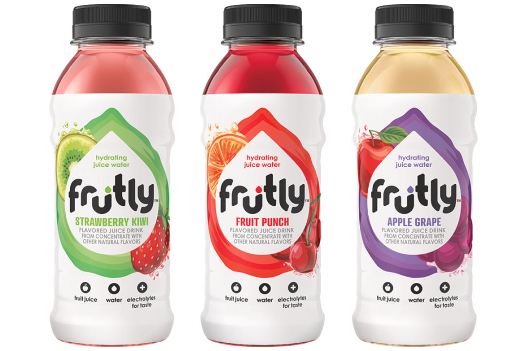 Frutly hydrating juice waters