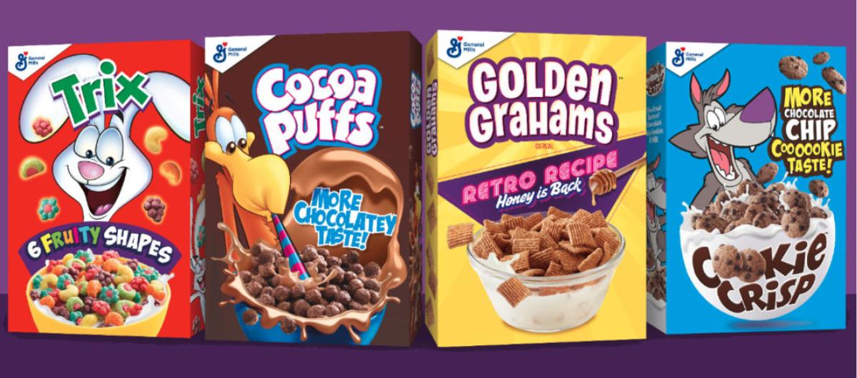 General Mills retro cereal recipes