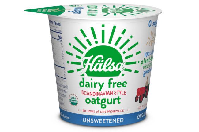 Halsa zero-sugar oat milk yogurt