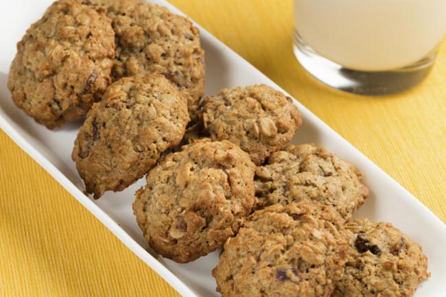 Muffins made with prebiotic fiber
