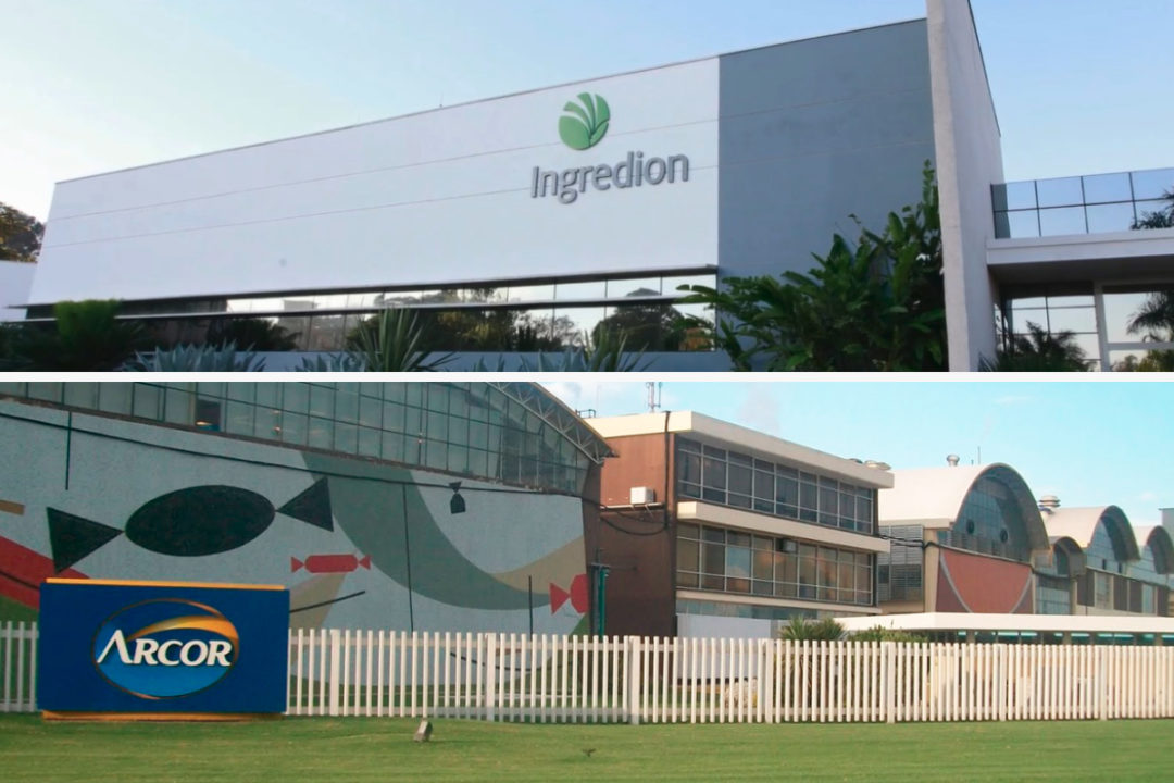Ingredion and Arcor facilities