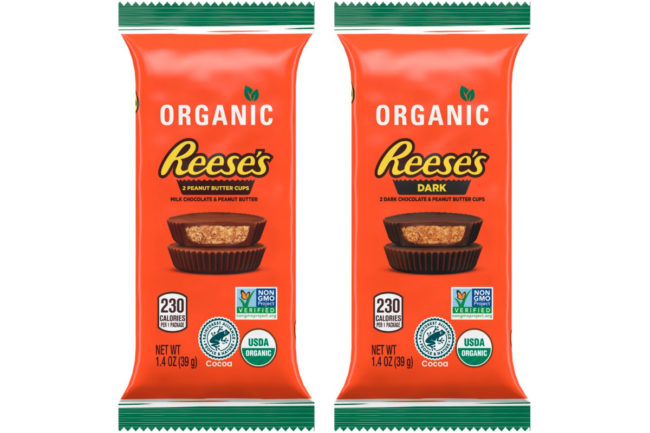 Organic Reese's peanut butter cups