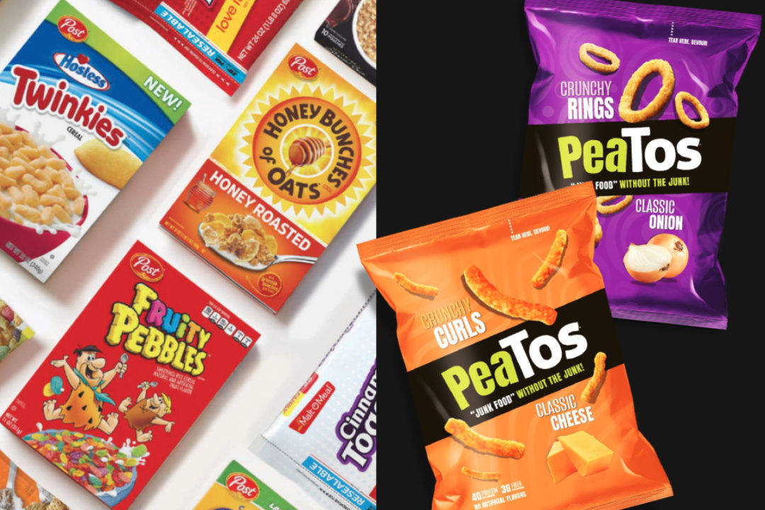 Post and Peatos products