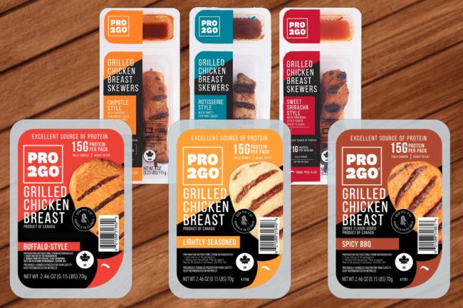 Pro2Go chicken snacks