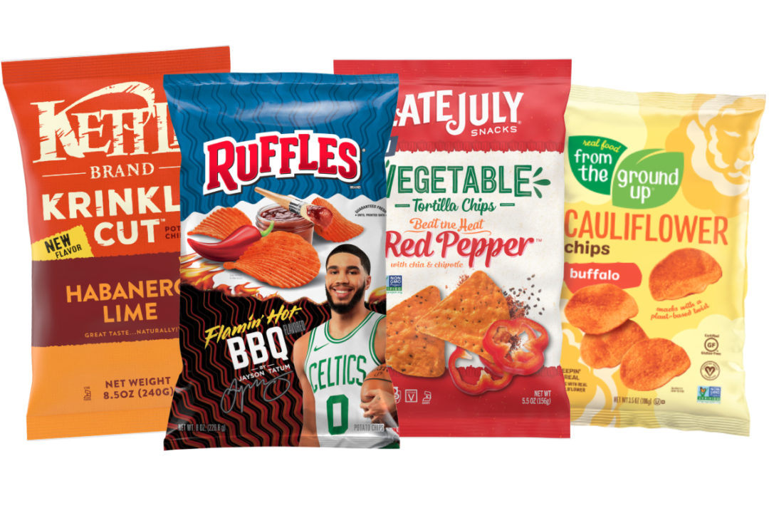 New spicy chips