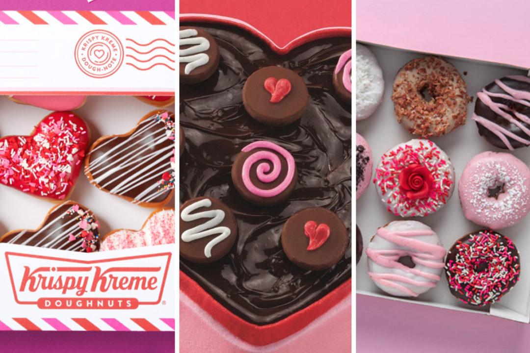New menu items from Krispy Kreme, Baskin-Robbins, Duck Donuts