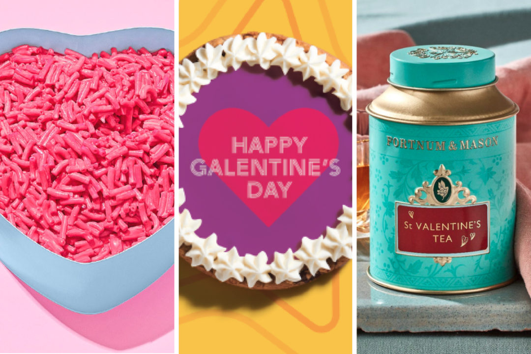 New products and menu items for Valentine's Day