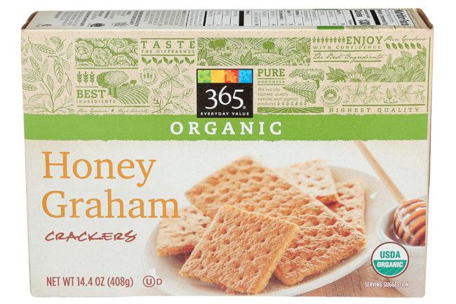 Whole Foods Honey Graham Crackers