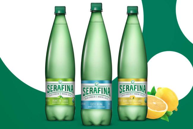 7-Eleven Serafina sparkling water