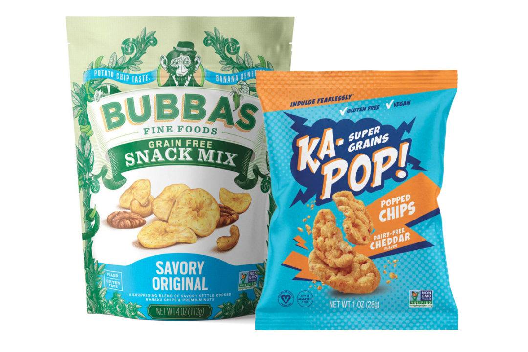 Awakened Foods Ka-Pop! Snacks and Bubba's