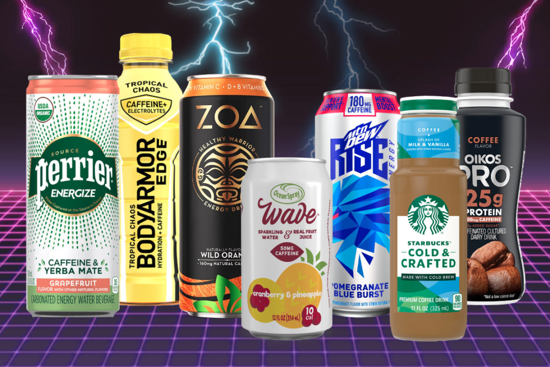 New caffeinated beverages