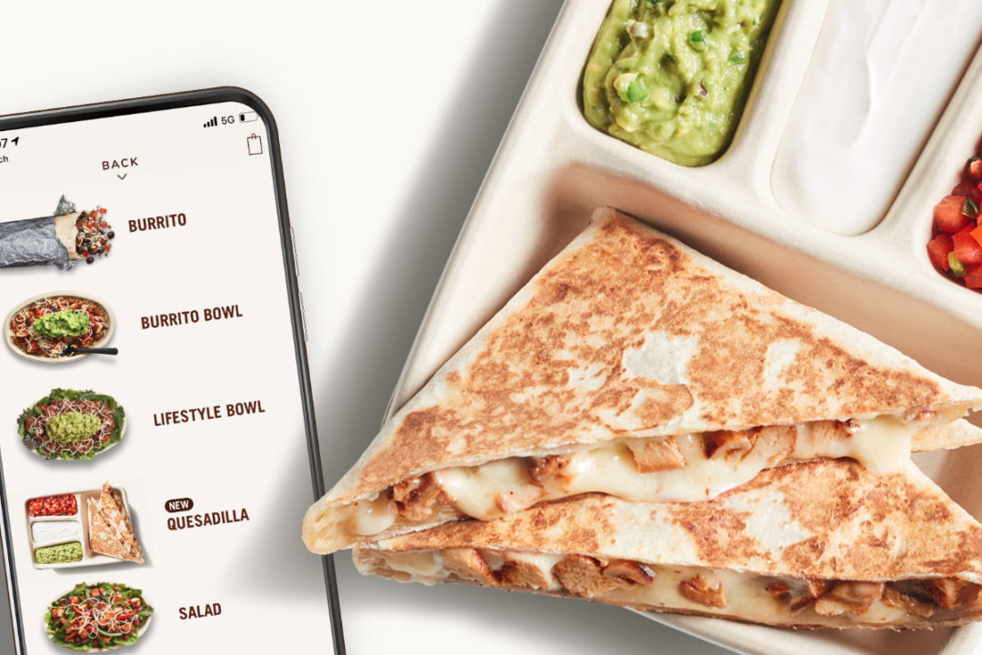 Chipotle Hand-Crafted Quesadilla