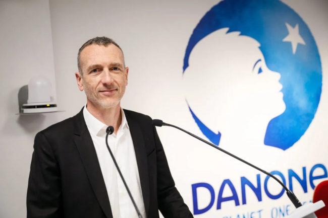 Emmanuel Faber, Danone